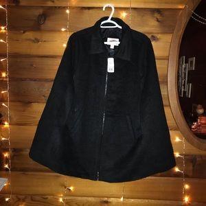 Sleeveless coat poncho ✨2/$45✨
